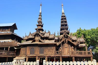 Nat Taung Kyaung Monastery, Bagan (Pagan)