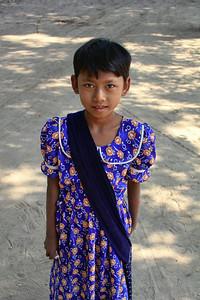 Young Girl, Bagan (Pagan)