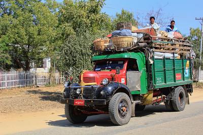 Old Truck, New Bagan (Pagan