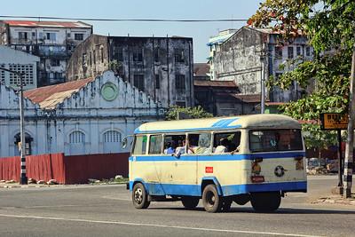 Yangon Public Bus #1