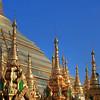 Golden Spires #3, Shwedagon Paya (Pagoda) Yangon (Rangoon) Myanmar (Burma)
