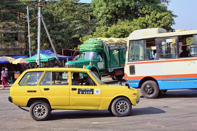 City Taxi, Yangon