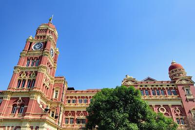 Colonial High Court Building, Yangon