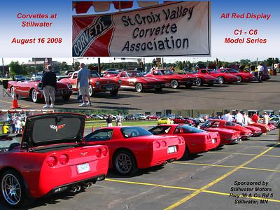 StCVCA Corvette Car Show, Stillwater MN (Aug 2008)