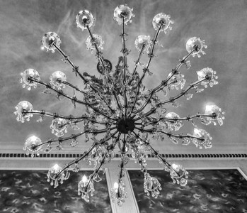 Chandelier at Graceland, Home of Elvis Presley