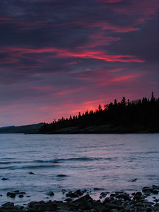 Sunset at Grand Marais MN  2012 Sep