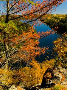 Fall Colors at Grand Marais MN  2012 Sep
