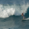 Surfing at Ho'okipa