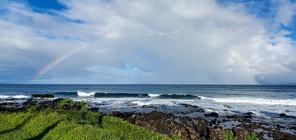 Rainbow over Molokai