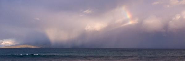 Storm over Molokai
