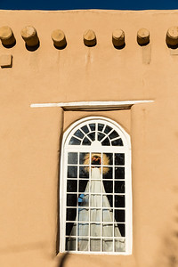 Window, San Francisco de Asis Church