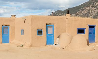 3 Blue Doors