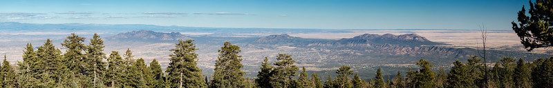 Panoramic East View from Sandia Crest