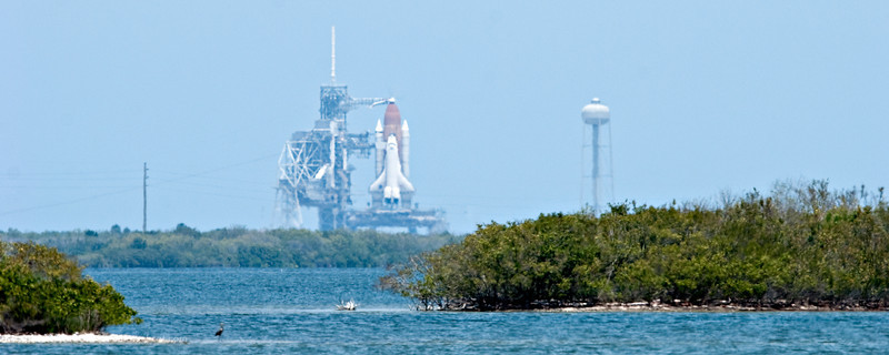 NASA Space Shuttle Atlantis, STS-125, ready for launch May 11, 2009.