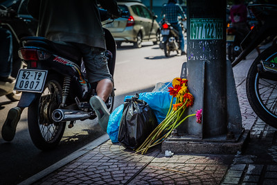 Trash and Flowers | Ho Chi Minh City, Vietnam