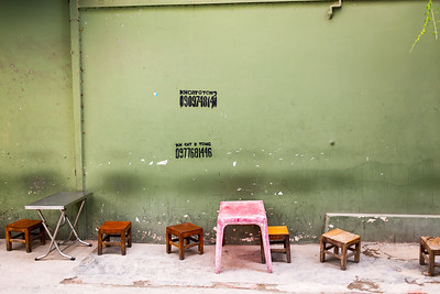 Tables and Stools | Ho Chi Minh City, Vietnam