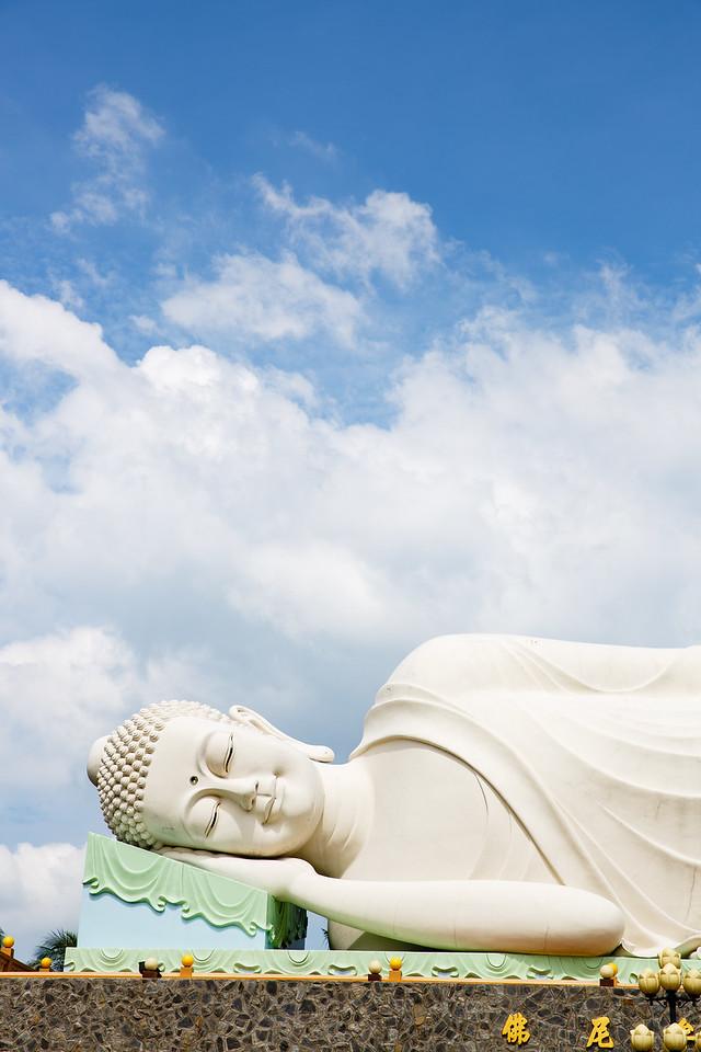 Resting Buddah | My Tho, Vietnam