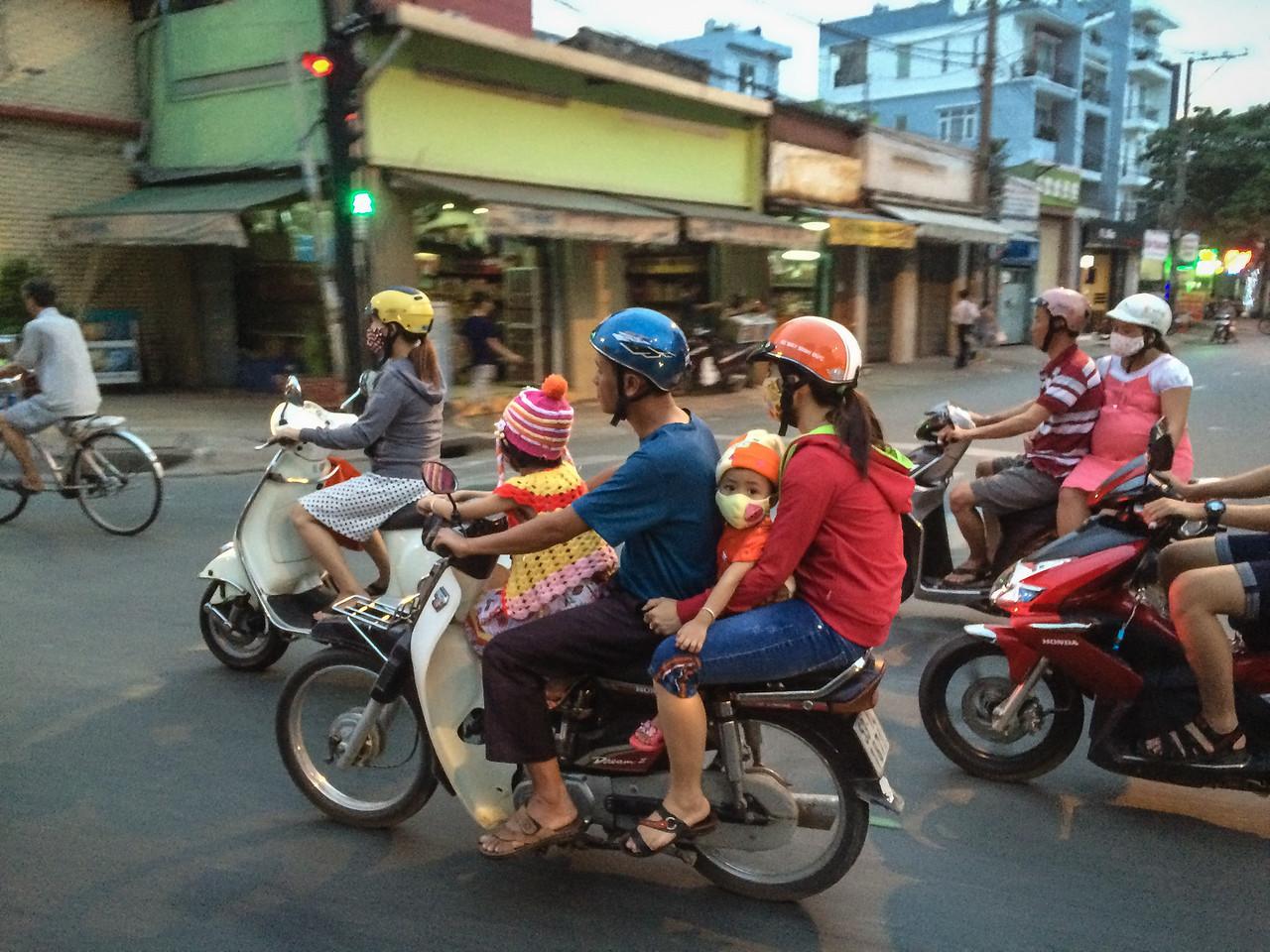 Family of Four | Ho Chi Minh City, Vietnam