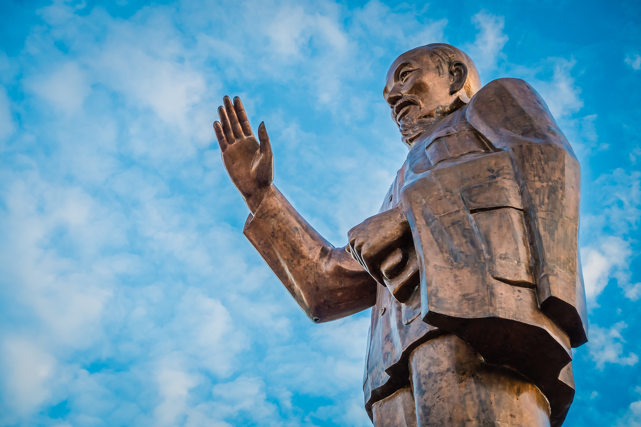 Ho Chi Minh Statue | Can Tho, Vietnam