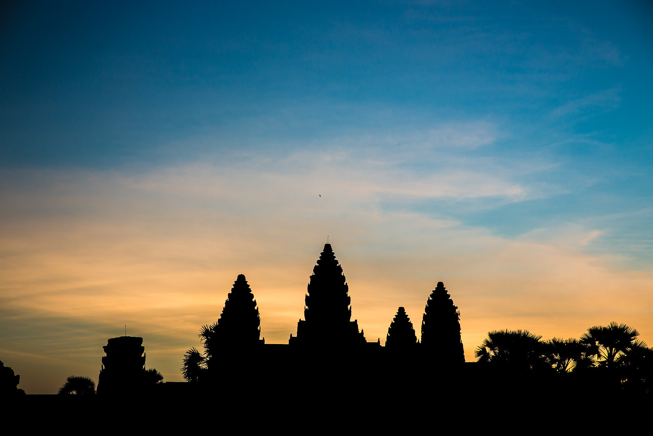 Bird above Angkor Wat at Sunrise | Siem Reap, Cambodia