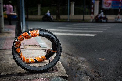 Tire Art | Ho Chi Minh City, Vietnam