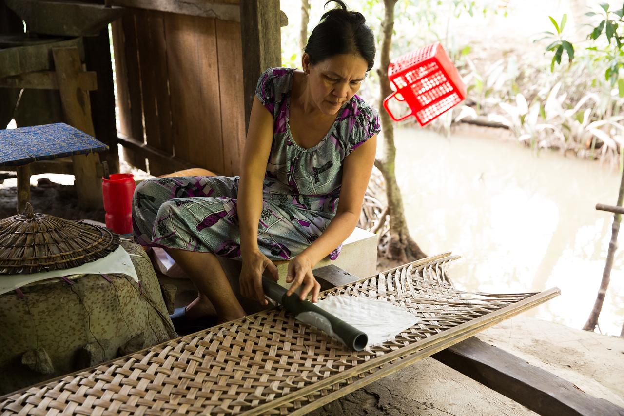 Rice Paper Making | Bến Tre, Vietnam