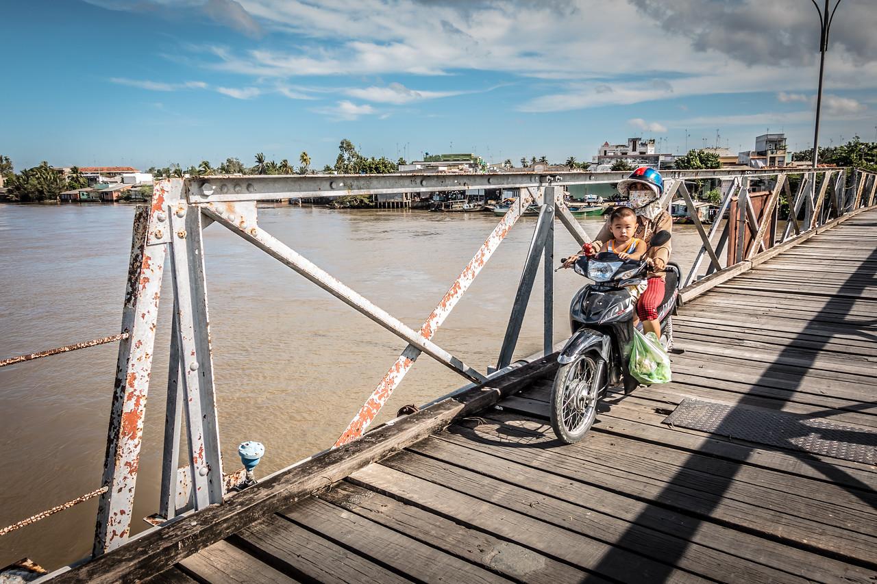 Bridge Crossing | Bến Tre, Vietnam