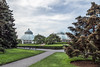 page 78, Raised above the surrounding<br /> landscape, the Enid A. Haupt<br /> Conservatory serves as a beacon<br /> for all Garden visitors.