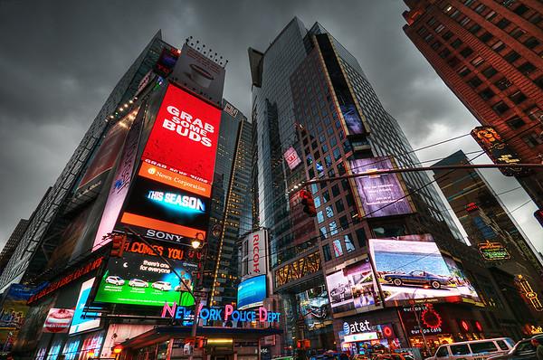 Times Square Hussy © Apostolos Zabakas