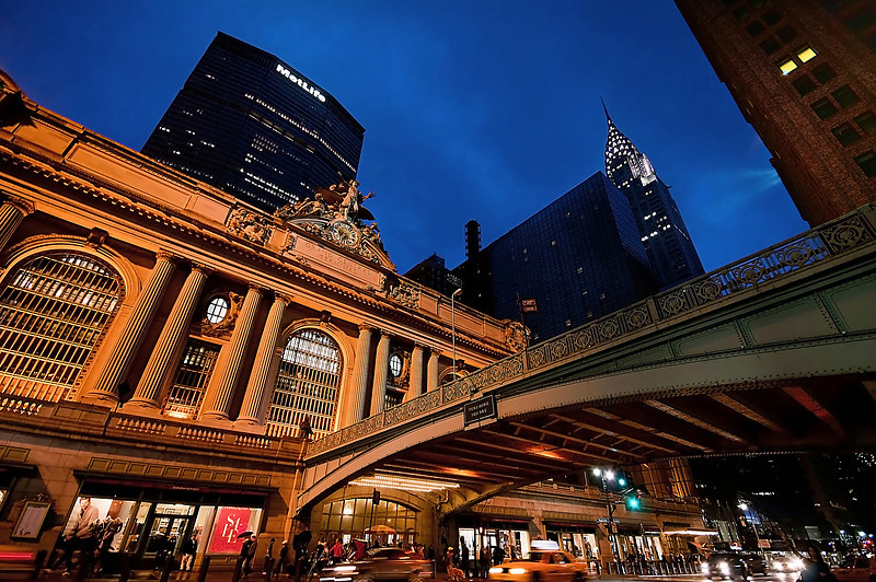 Grand Central Terminal 42nd Street and Park Avenue in Midtown Manhattan<br /> © Apostolos Zabakas