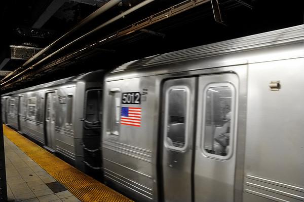 In Penn station (Midtown Manhattan) © Apostolos Zabakas
