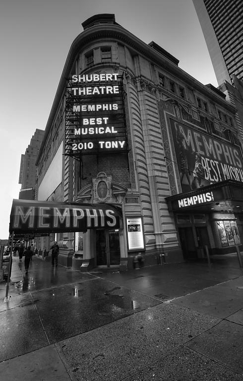 Shubert Theatre (Broadway) midtown Manhattan © Apostolos Zabakas