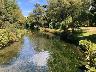 Avon River Hagley Park Christchurch