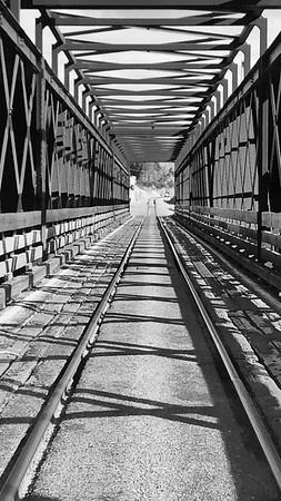 One Lane Bridge West Coast New Zealand