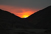Sunset upon the Hans Mountains in Namibia - just north of the Orange River.