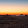 Sunset in the Namib Desert region
