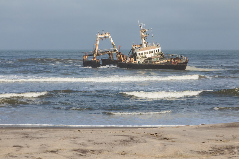 Shipwreck of Zeila in Henties Bay