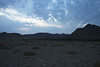 Late evening view across the Hans Mountains (Hansberge) in Namibia - just north of the Orange River.