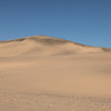 Smooth sand dune in the Namib Desert