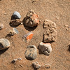 Different textures and colors of stones, Sossusvlei