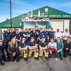 "Members of the University Fire Department pose for a photo in front of the newest fire engine in the fleet at the South University Avenue station April 18.  <div class=""ss-paypal-button"">Filename: LIF-14-4152-18.jpg</div><div class=""ss-paypal-button-end"" style=""""></div>"