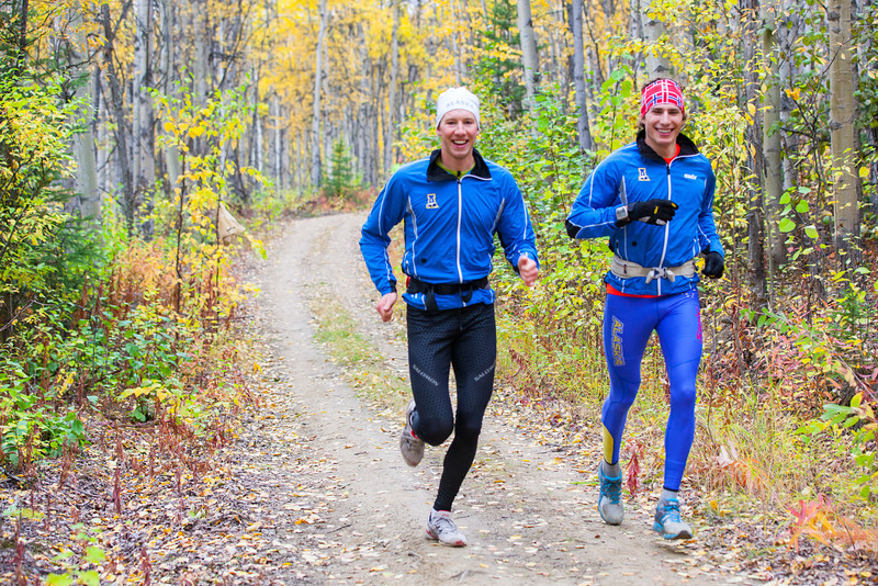 """Nanooks Max Olex and Tyler Kornfield join at least 1,200 runners in the 50th Annual Equinox Marathon, Saturday morning, September 15, 2012.  <div class=""""ss-paypal-button"""">Filename: LIF-12-3553-131.jpg</div><div class=""""ss-paypal-button-end"""" style=""""""""></div>"""