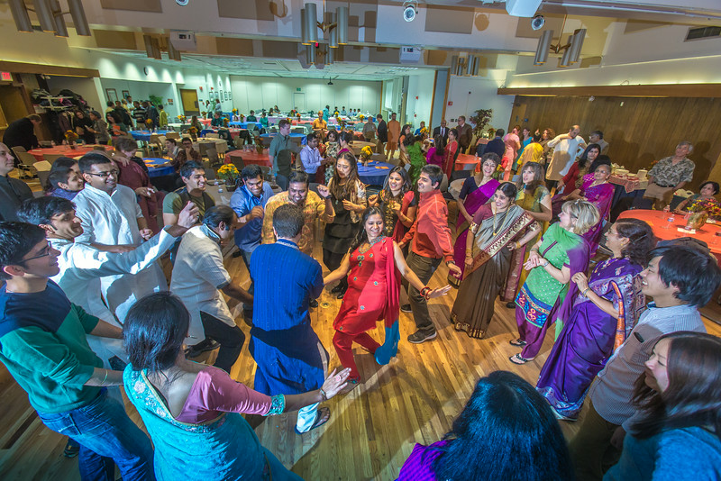 """Members of UAF's Indian community celebrate the Diwali Festival in the Wood Center ballroom.  <div class=""""ss-paypal-button"""">Filename: LIF-13-3992-183.jpg</div><div class=""""ss-paypal-button-end""""></div>"""