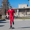 "Andrew Walsh skates around campus in his red onesie.  <div class=""ss-paypal-button"">Filename: LIF-12-3360-04.jpg</div><div class=""ss-paypal-button-end"" style=""""></div>"