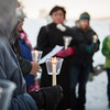 "A candlelight vigil is held outside the Wood Center as part of the World Aids Day activities Saturday, Dec. 1, 2012.  <div class=""ss-paypal-button"">Filename: LIF-12-3668-13.jpg</div><div class=""ss-paypal-button-end"" style=""""></div>"