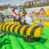 "Students took turns getting  knocked around on one of the many attractions brought to campus during SpringFest Field Day on April 28.  <div class=""ss-paypal-button"">Filename: LIF-14-4168-110.jpg</div><div class=""ss-paypal-button-end""></div>"