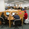 "Students browse the internet on the public computers set up on the main floor of the Rasmuson Library on the Fairbanks campus.  <div class=""ss-paypal-button"">Filename: LIF-13-3950-86.jpg</div><div class=""ss-paypal-button-end"" style=""""></div>"