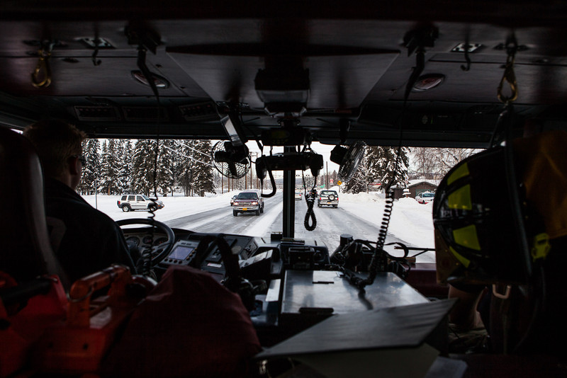 "UAF Firefighters drive to the Ice Alaska's George Horner Ice Park to fill an outdoor ice rink for children in Feb. 2013.  <div class=""ss-paypal-button"">Filename: LIF-12-3723-132.jpg</div><div class=""ss-paypal-button-end"" style=""""></div>"