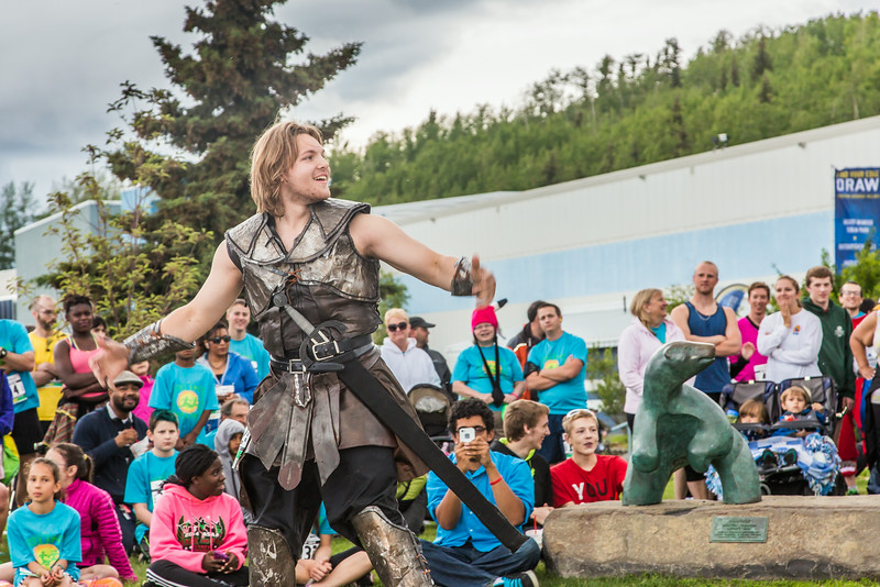 """The costume contest is one of the popular attractions at the annual Midnight Sun Run, which starts on the UAF campus every year on the Saturday nearest the summer solstice.  <div class=""""ss-paypal-button"""">Filename: LIF-14-4220-046.jpg</div><div class=""""ss-paypal-button-end""""></div>"""