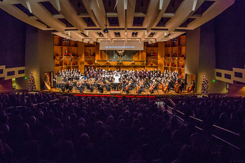 """Conductor Eduard Zilberkant leads the Fairbanks Symphony Orchestra, the University Chorus and the Fairbanks Children's Chorus in a special holiday performance in the Davis Concert Hall.  <div class=""""ss-paypal-button"""">Filename: LIF-12-3669-183.jpg</div><div class=""""ss-paypal-button-end"""" style=""""""""></div>"""